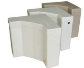 Пластмасово тоалетно казанче - ъглово