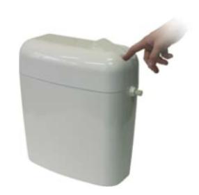 Пластмасово тоалетно казанче - двустепенно