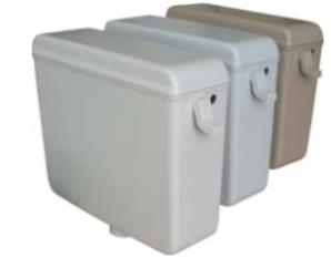 Пластмасово тоалетно казанче - модел нп 1