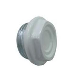 Тапа за алуминиев радиатор със силиконово уплътнение